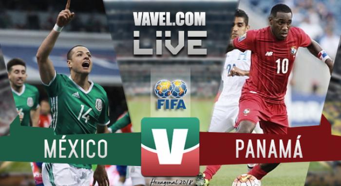 Resultado y gol del México 1-0 Panamá en Hexagonal Final 2017