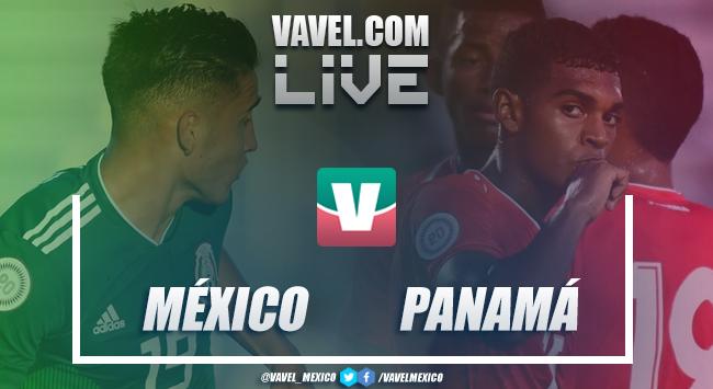 México vs Panamá en vivo online en Semifinal Premundial Sub-20 2018 (0-0)