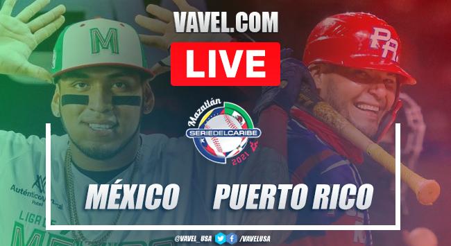 Highlights and scores: México 1 - 2 Puerto Rico Serie del Caribe 2021 Semifinals