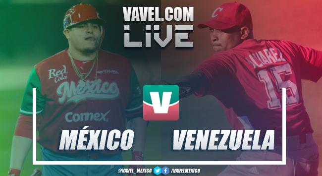 Resumen y carreras México 9-4 Venezuela en Serie del Caribe 2019