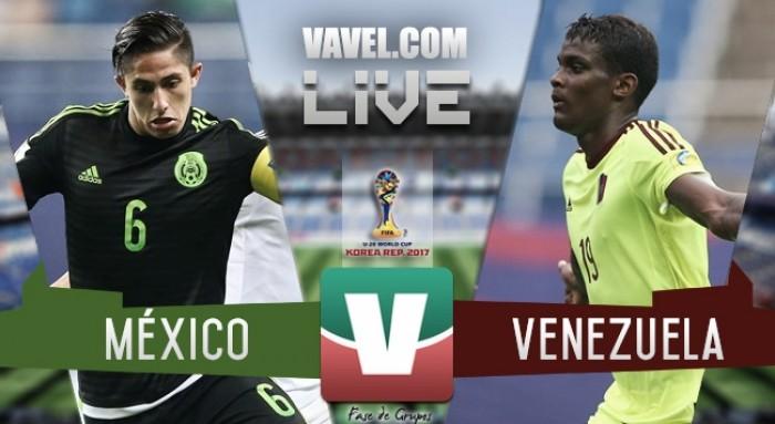Resultado y goles del México 0-1 Venezuela en Mundial Sub 20 Corea