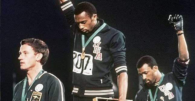 México 68: 107 medallas y dos guantes negros