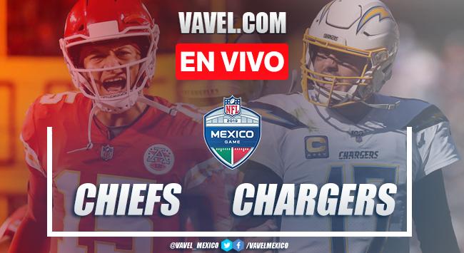 Resumen y Touchdowns: Kansas City Chiefs 24-17 Los Ángeles Chargers en NFL México 2019