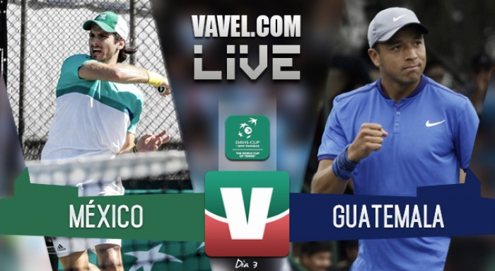 Guatemala doblega a México en Copa Davis