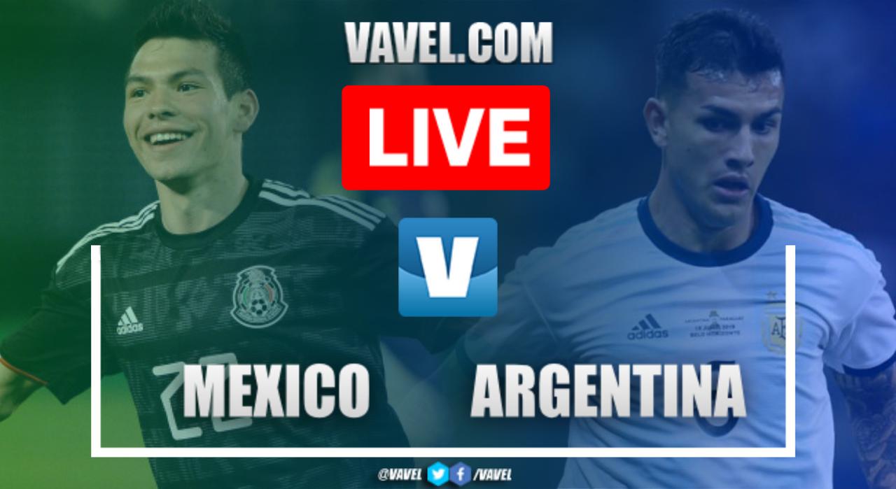 Resumen y goles: México 0-4 Argentina en Amistoso 2019