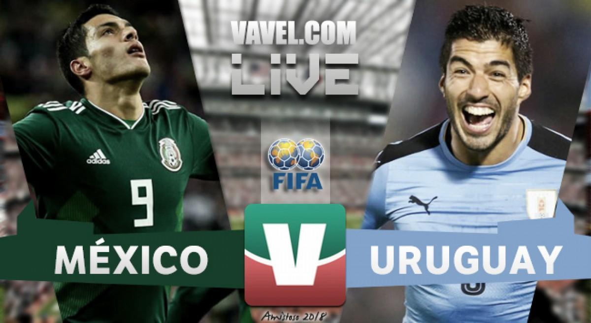 Resultado y goles del México (1-4) Uruguay