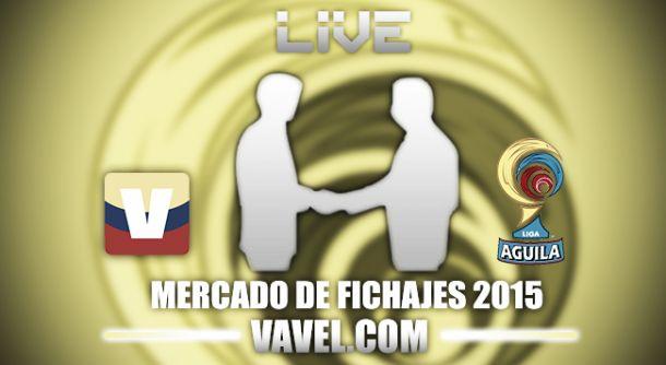 Mercado de fichajes de la Liga Águila 2015-II