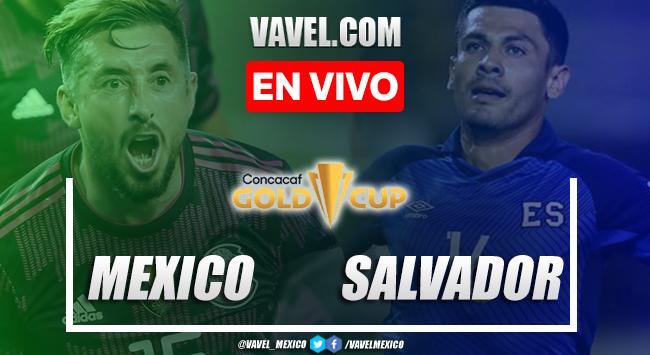 Gol y resumen del México 1-0 El Salvadoren Copa Oro