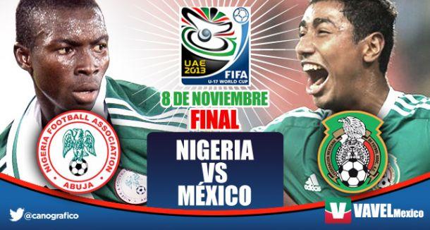 México vs Nigeria, Mundial Sub 17 en vivo