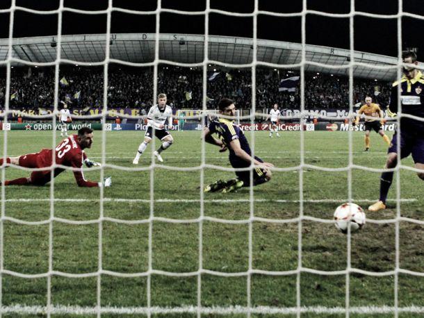 Un gol que sella el pase