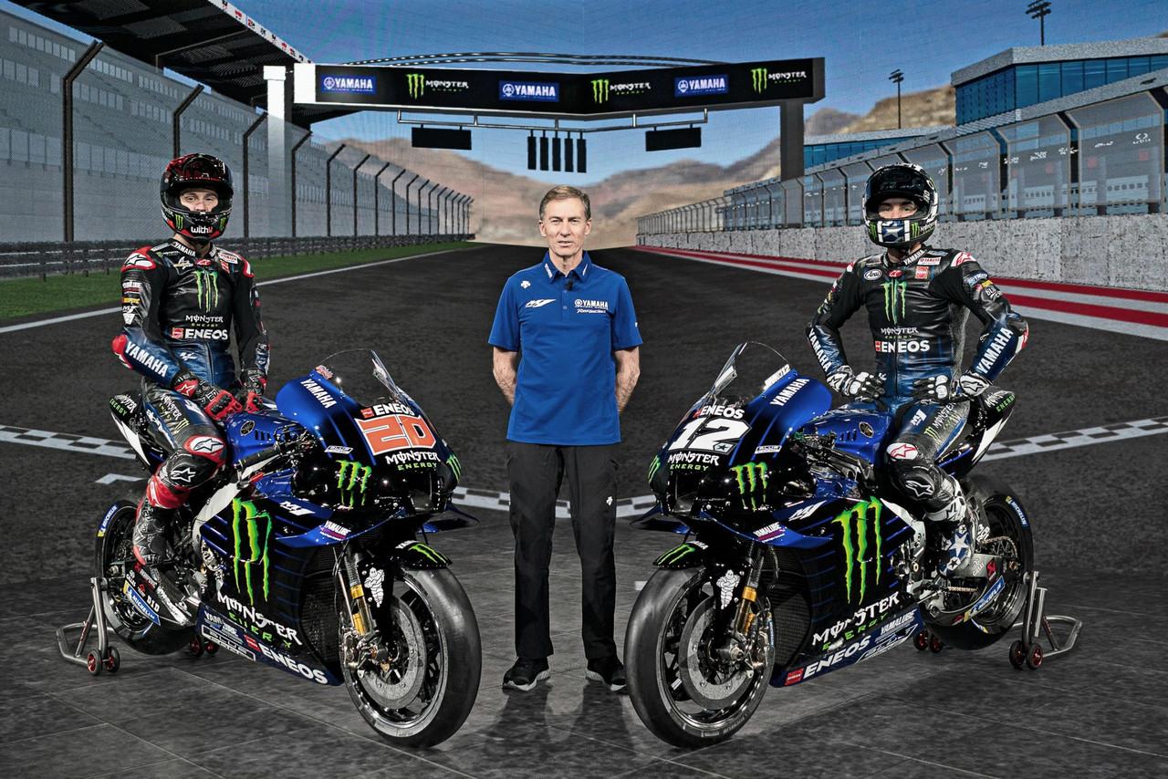 Presentaciones 2021: Yamaha aspira a ganarlo todo