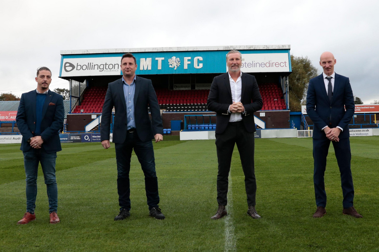 Macclesfield FC take first steps after rising from the ashes