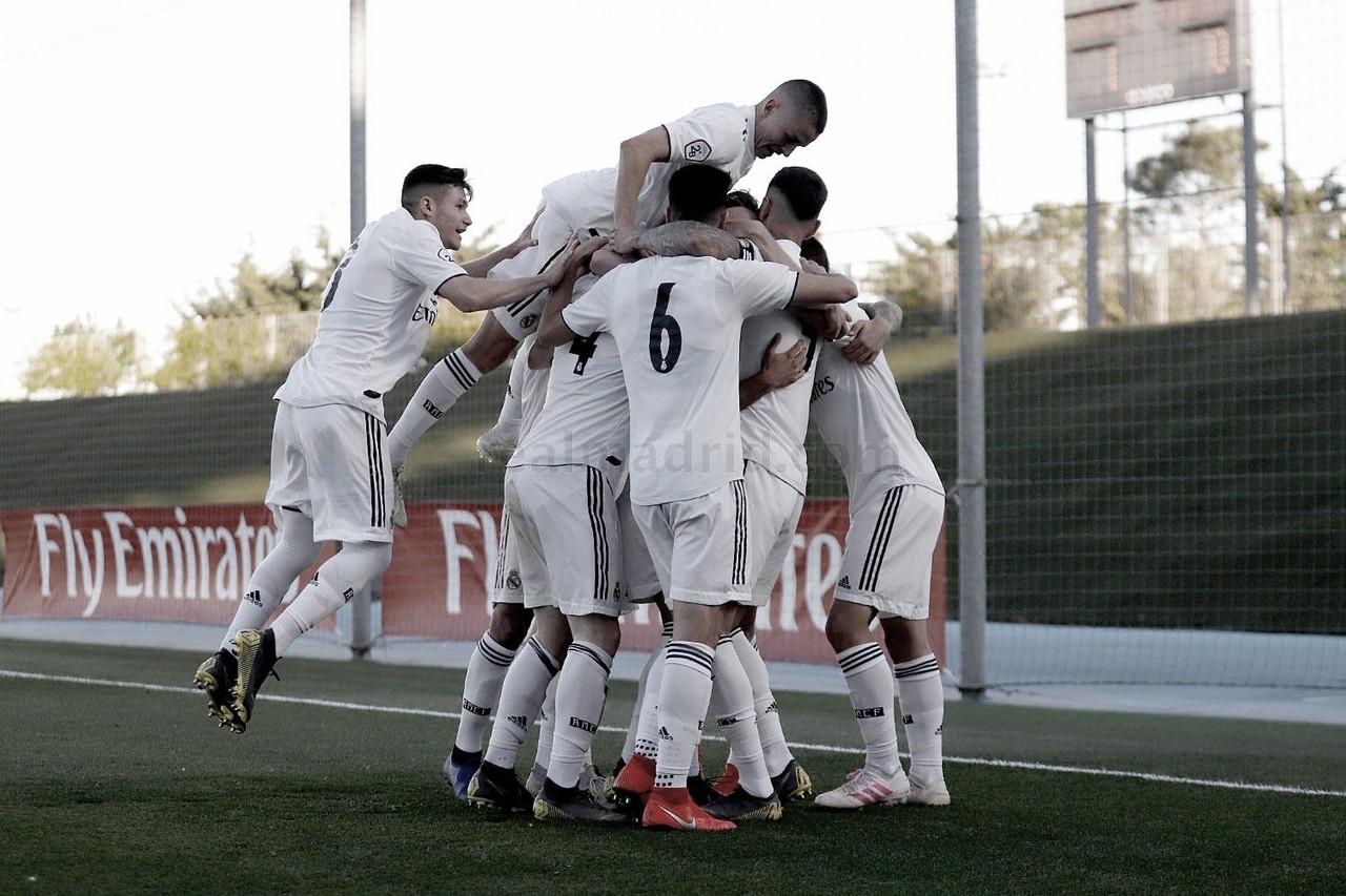 El Castilla golpea primero en el Di Stéfano