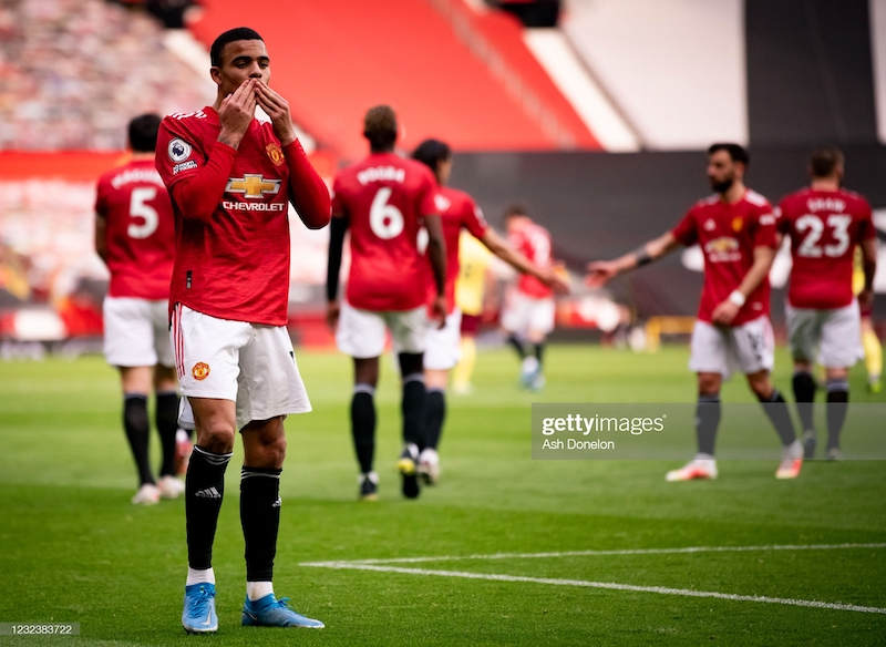Solskjaer: Two-goal Greenwood reaping rewards of 'hard work' and 'mixing up his game'