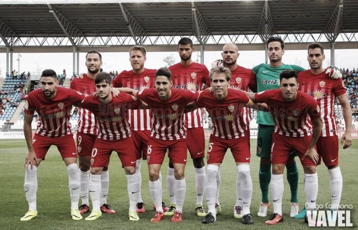 Almería - Nàstic de Tarragona: puntuaciones Almería, jornada 11 de Segunda División