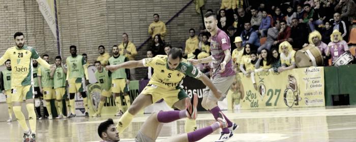El Jaén rescata un empate en el último minuto ante Palma Futsal