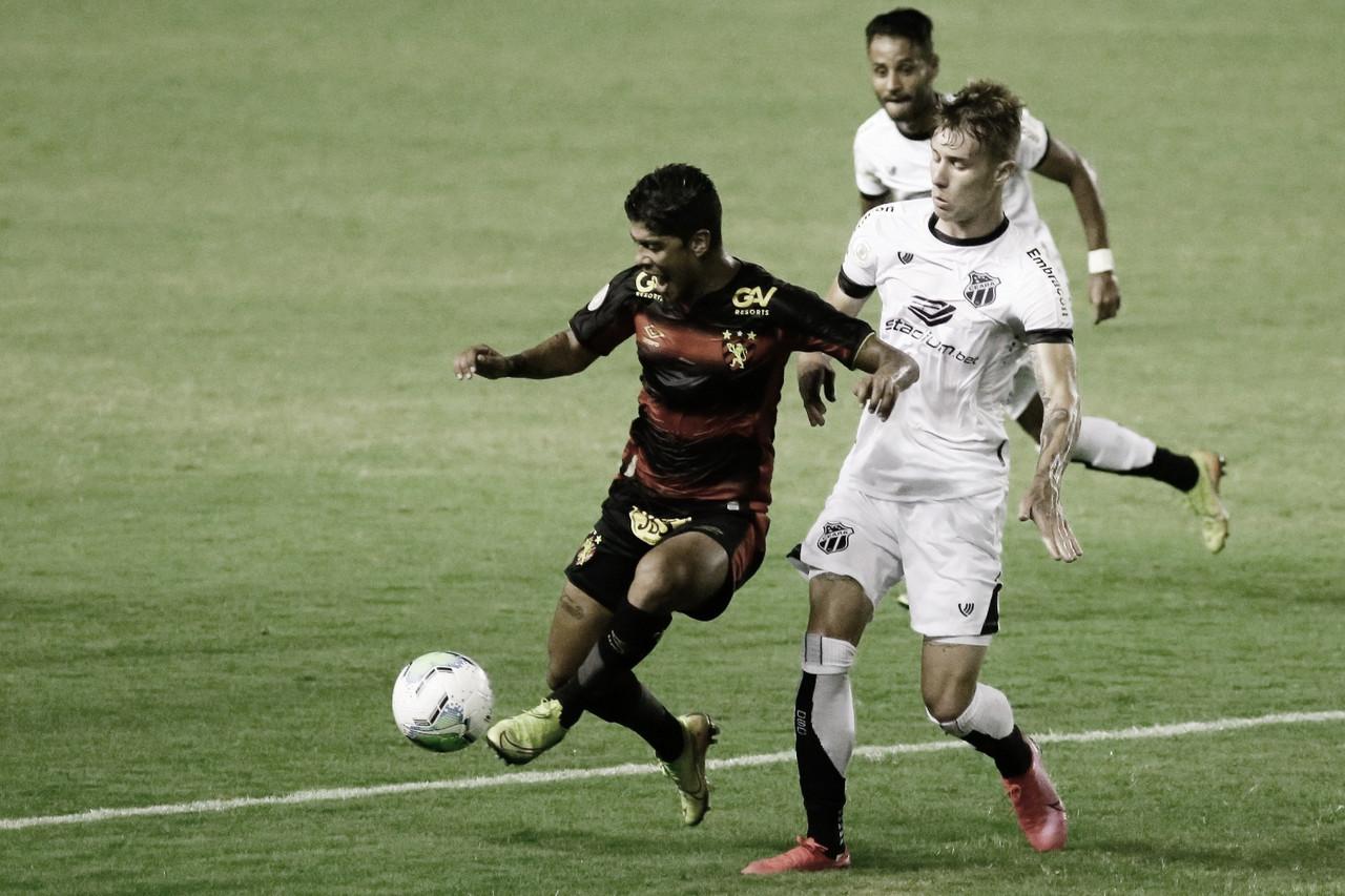 Animado após vitória em clássico, Sport tenta manter chances de classificação contra Ceará