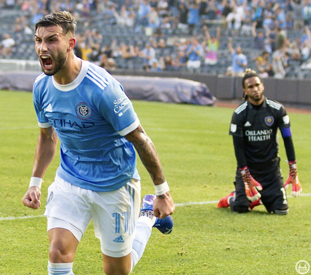 NYCFC 5-0 Orlando City: Boys In Blue run riot past Lions