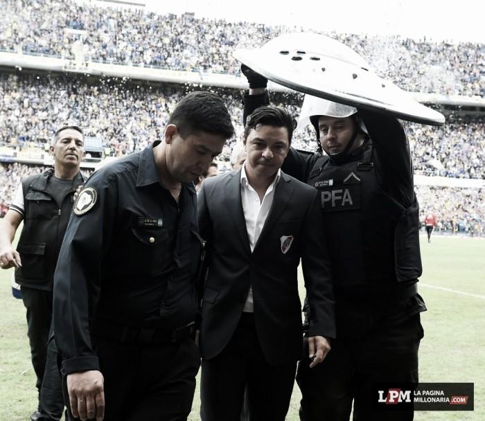 """Gallardo: """"Fue un partido difícil de jugar"""""""