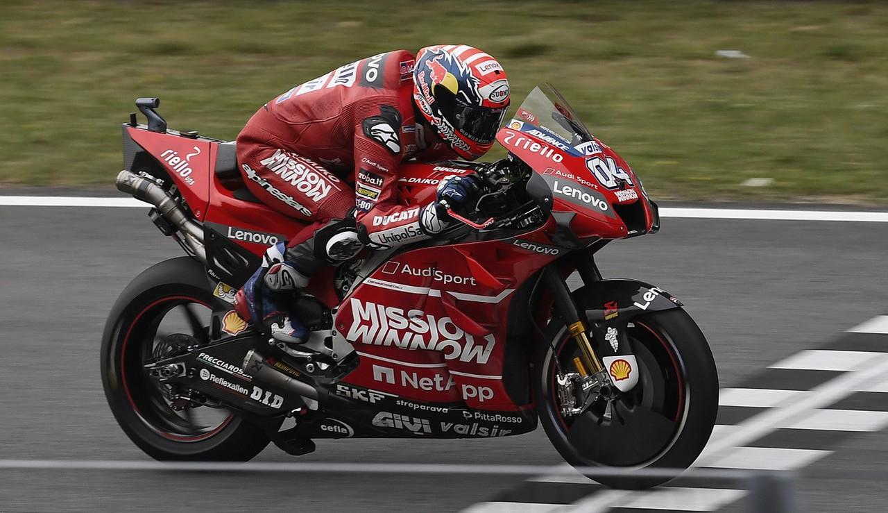 Ecuador de la temporada de MotoGP del Ducati Team
