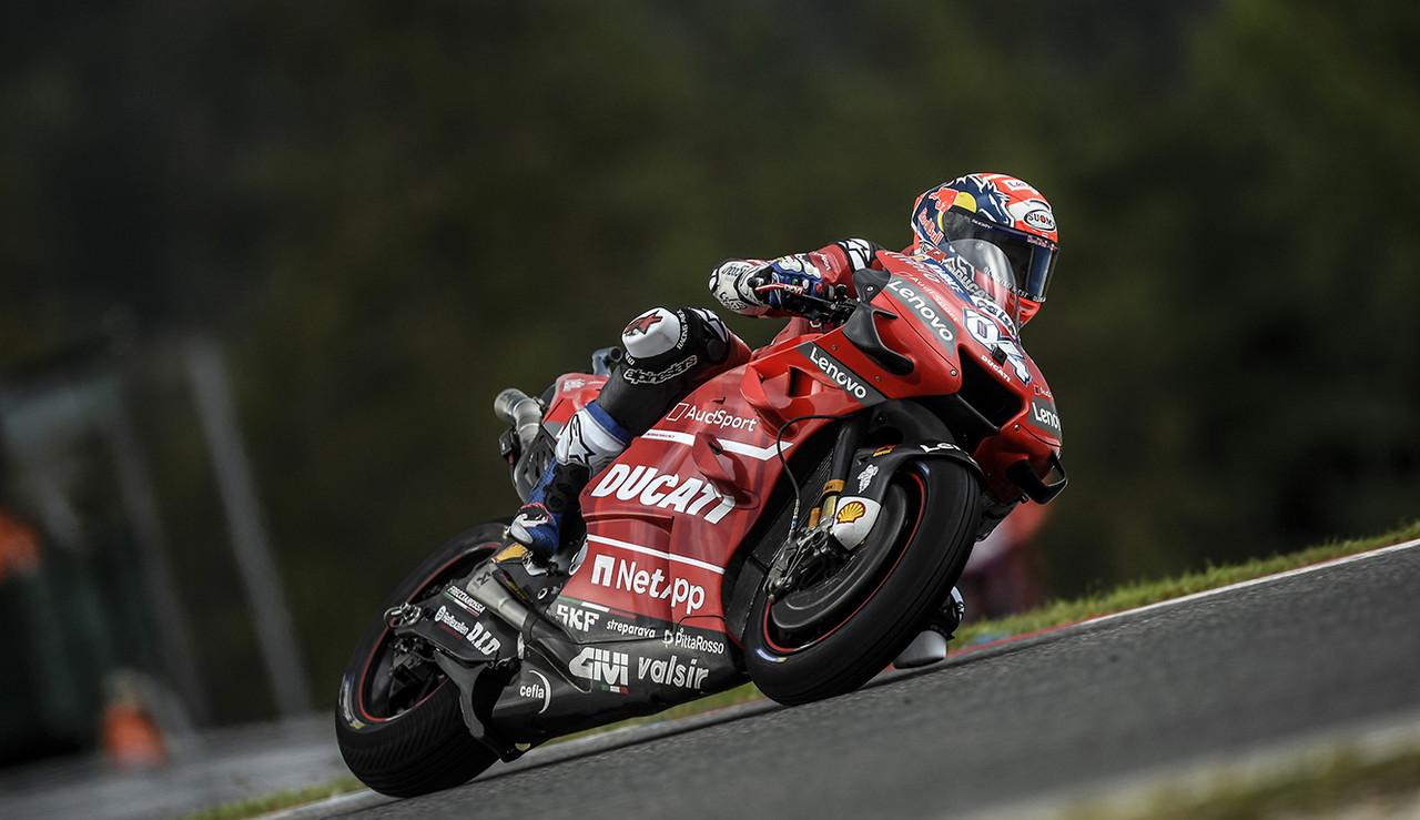 El equipo Ducati está preparado para correr en el circuito de casa