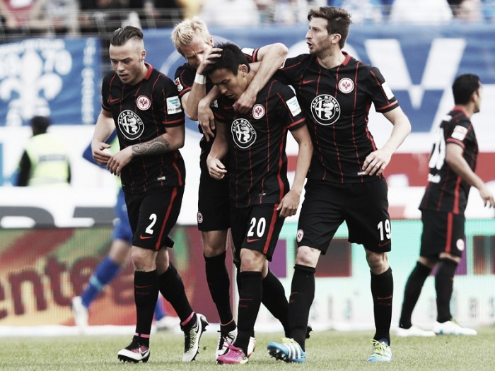SV Darmstadt 98 1-2 Eintracht Frankfurt: Aigner gives Frankfurt hope of beating the drop