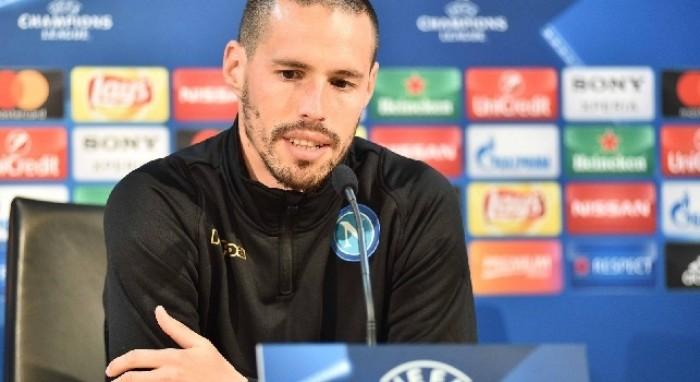 """Champions League - Napoli, Hamsik: """"Pressione sulle loro spalle. Sarà una grande serata"""""""