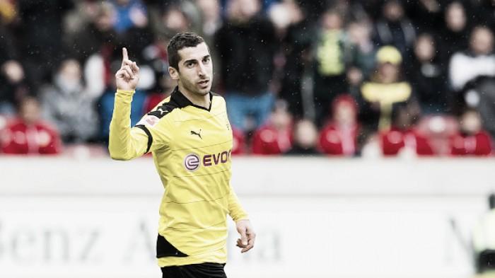 Dortmund confirma saída de Mkhitaryan em negociação junto ao Manchester United