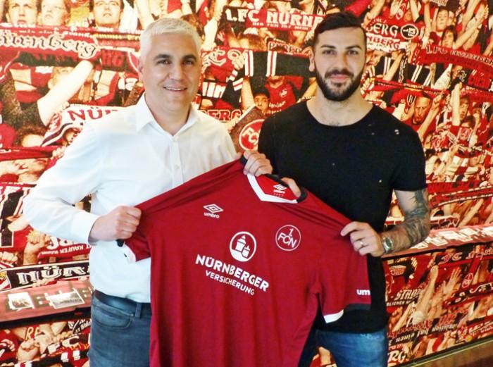 Mikael Ishak joins Nürnberg