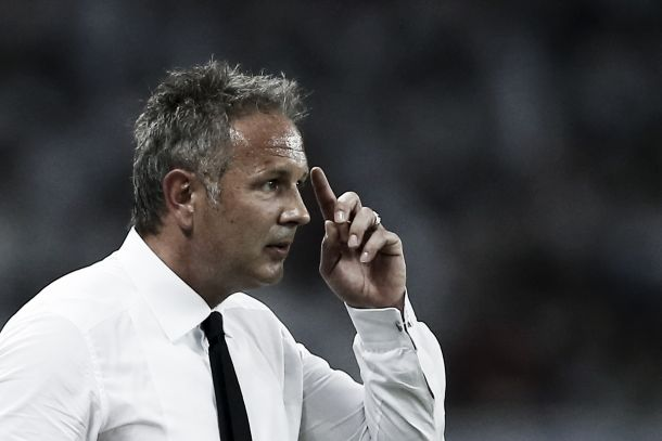 """Milan, Mihajlovic: """"Noi meglio dell'Inter, ci è mancato il gol"""""""