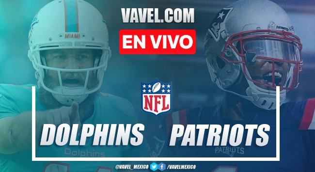 Resumen y touchdowns del Miami Dolphins 11-21 New England Patriots en NFL 2020