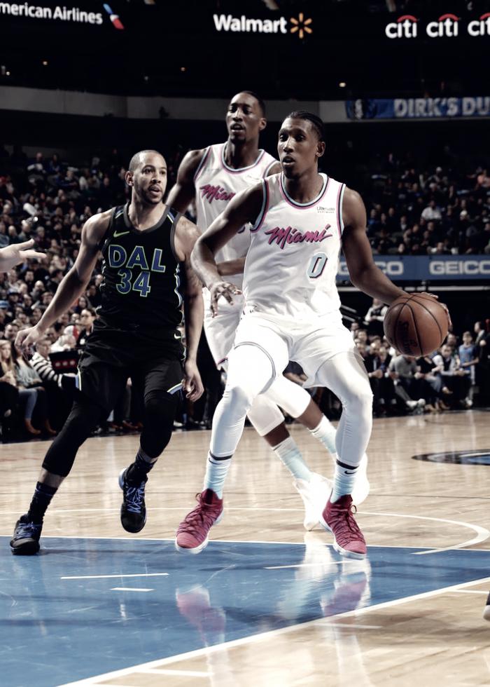 Los Heat se mantienen fuerte ante Dallas