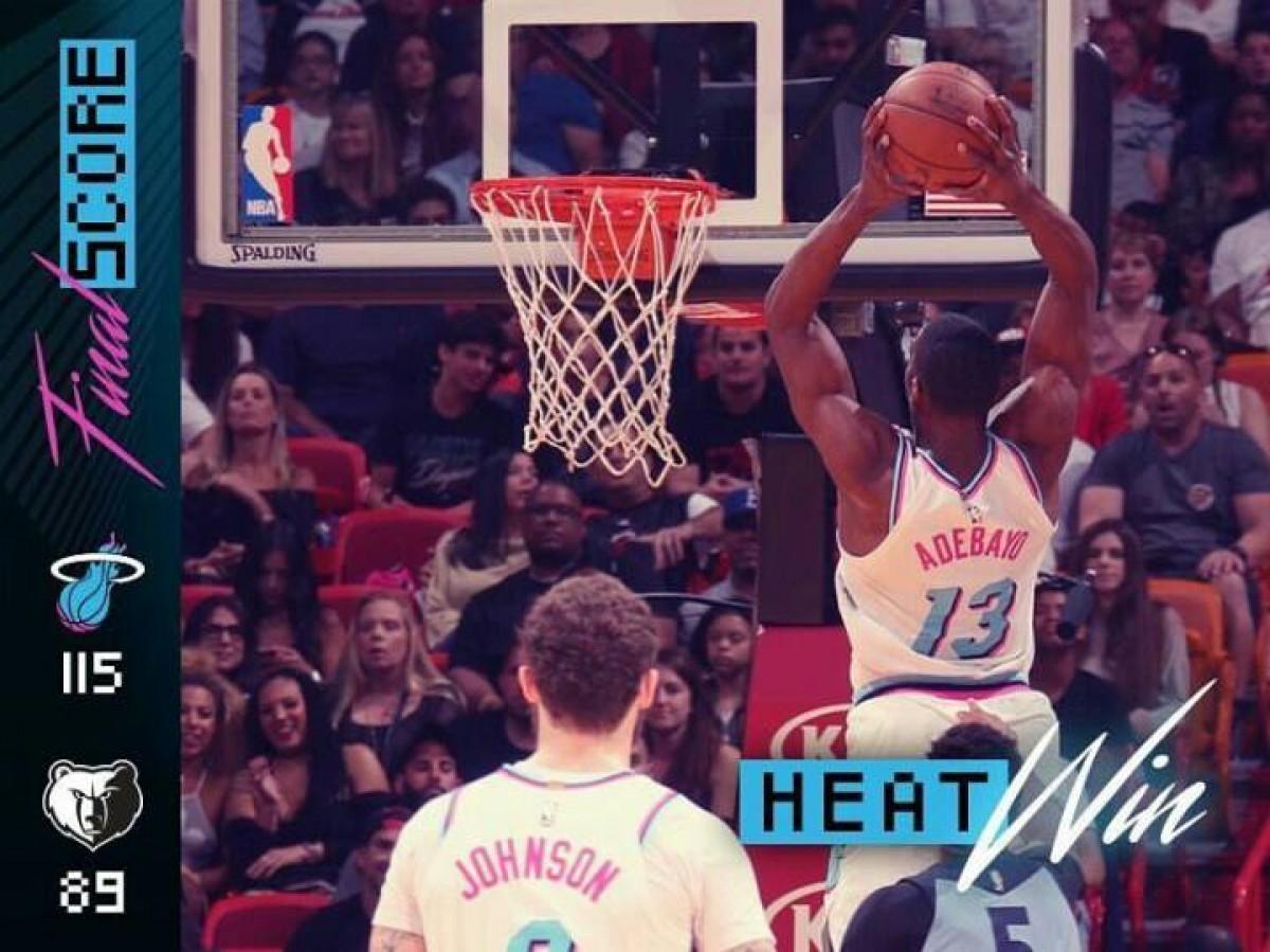 Grizzlies se zozobra y el Heat se convalece