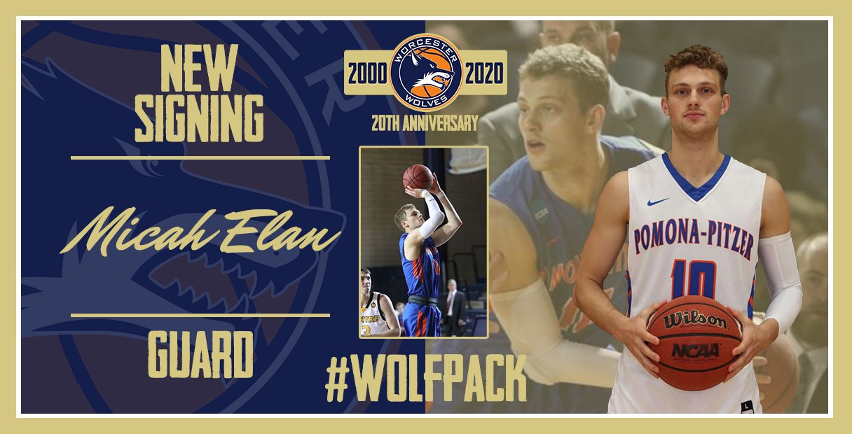 Worcester Wolves sign NCAA Guard Micah Elan