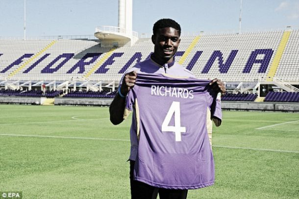Micah Richards looking forward to play for Fiorentina