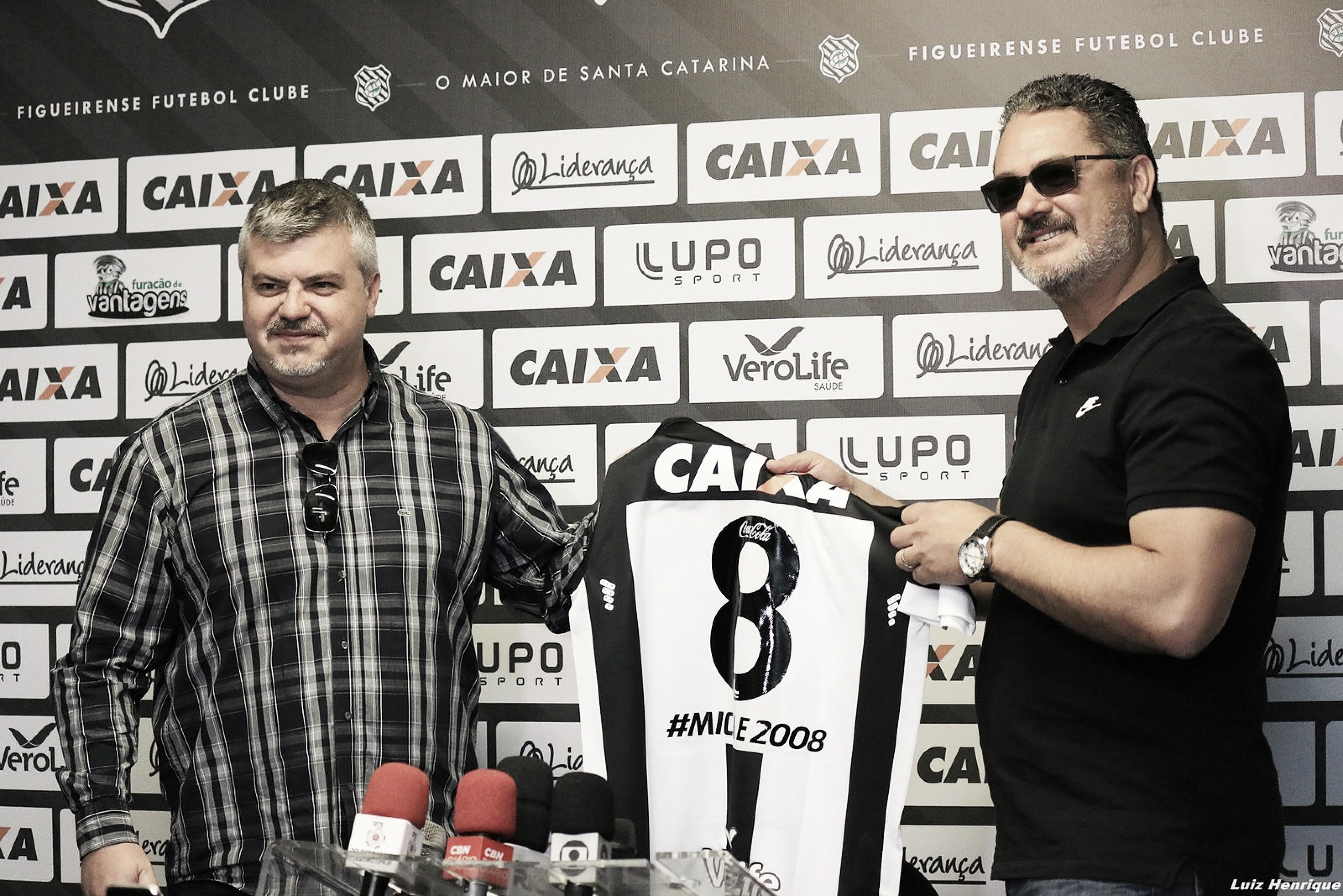 Rogério Micale é anunciado como novo técnico do Figueirense