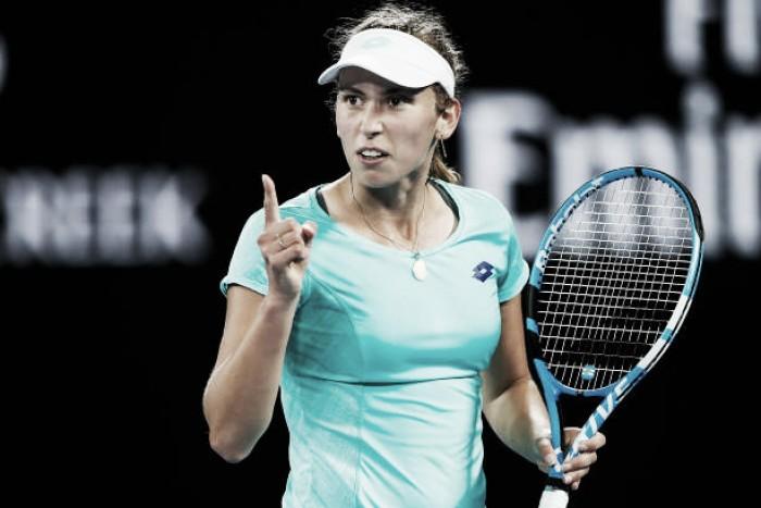 Australian Open: Elise Mertens edges past Daria Gavrilova
