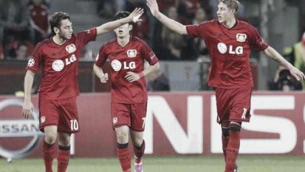 Benfica desaba perante a pressão de Leverkusen