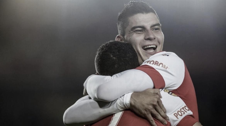 Michael Rangel se vuelve a poner la camiseta de Independiente Santa Fe