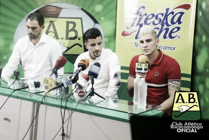 "Michael Rangel: ""Estoy muy contento de poder venir al Atlético Bucaramanga"""