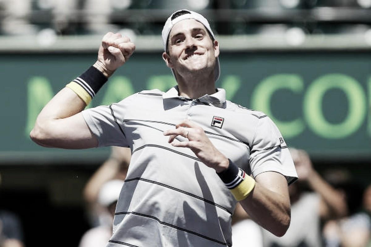 ATP Miami: Superb John Isner snaps del Potro's winning run, reaches final