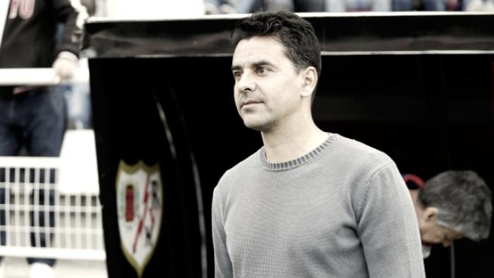 """Míchel: """"Había ganas de ganar en Vallecas"""""""
