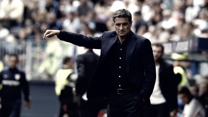 La afición no confía en que Míchel pueda sacar de esta situación al Málaga CF