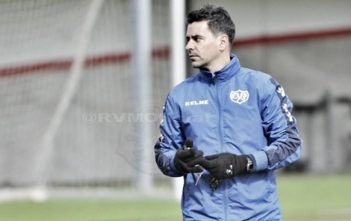 El Rayo Vallecano prepara el partido ante el Reus a puerta cerrada