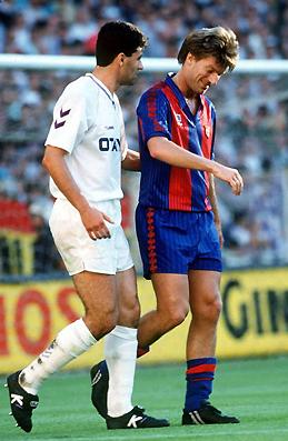 Serial Clásicos Real Madrid - FC Barcelona en Copa: 1992/93 - Benito Floro elimina al Barcelona en semifinales