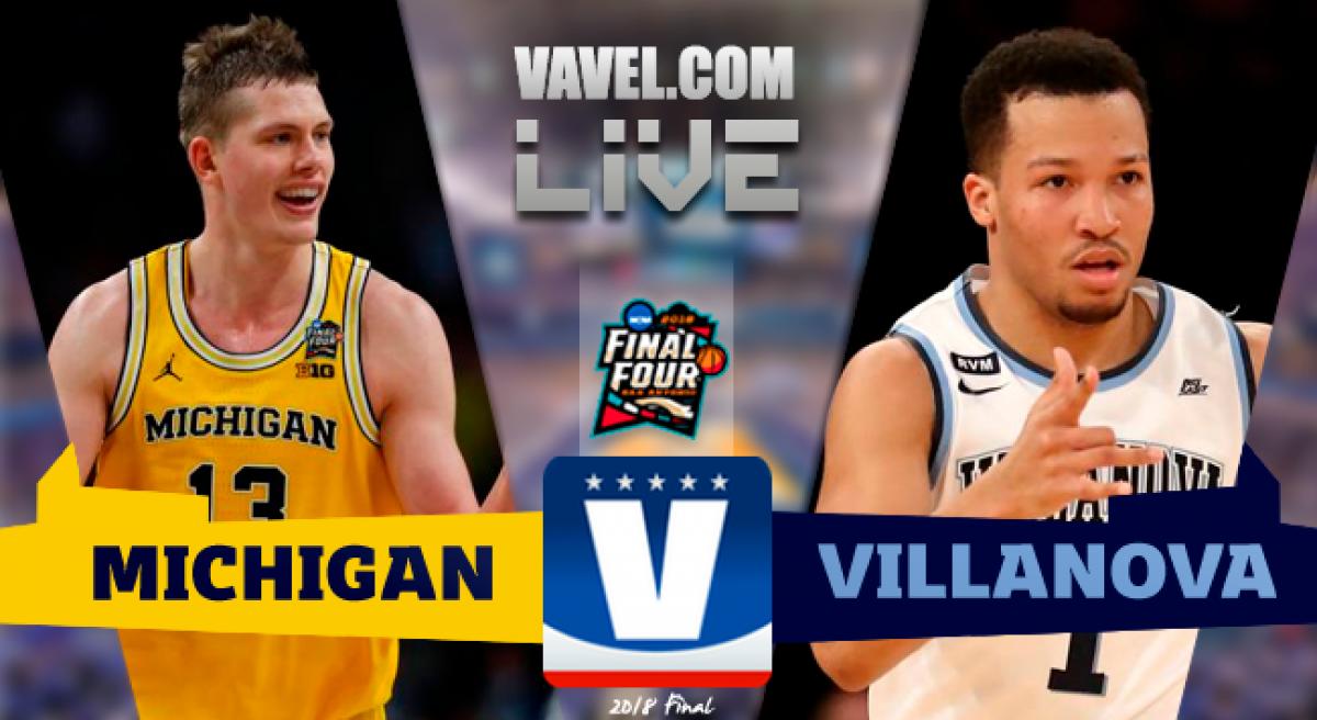 Score Michigan 62-79 Villanova in NCAA Championship 2018
