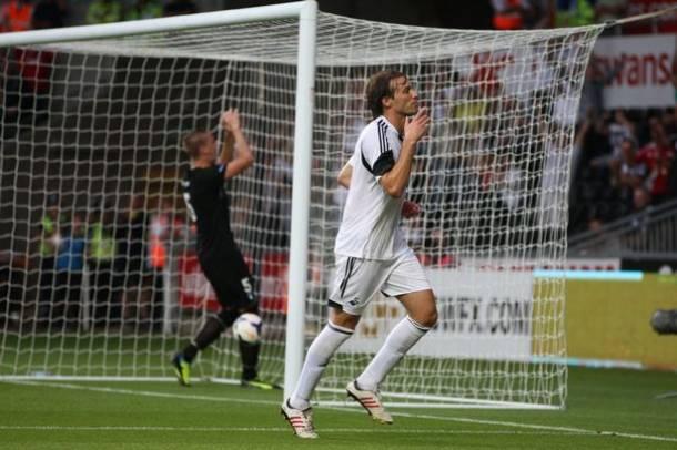 El Swansea arrolla a un modesto Malmö (4-0)