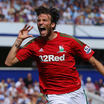 Michu lidera la goleada del Swansea