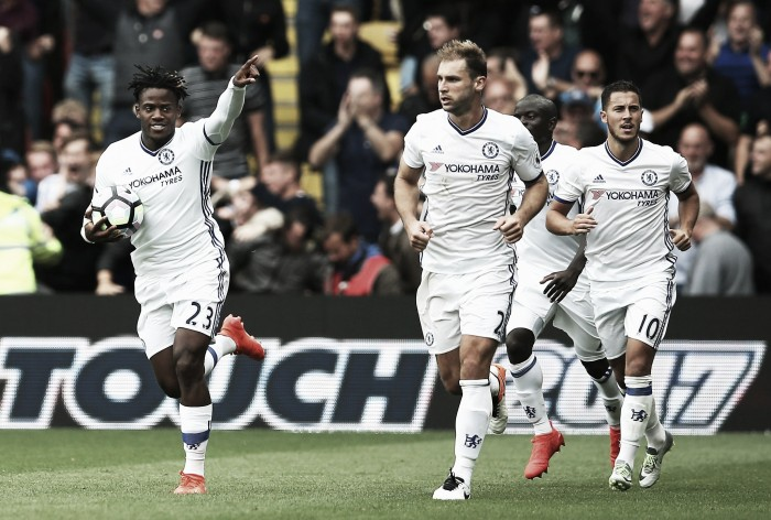 Watford 1-2 Chelsea: Diego Costa proves to be the difference yet again for Conte's side