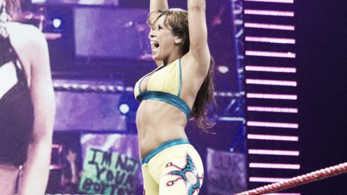 Mickie James regresa a WWE